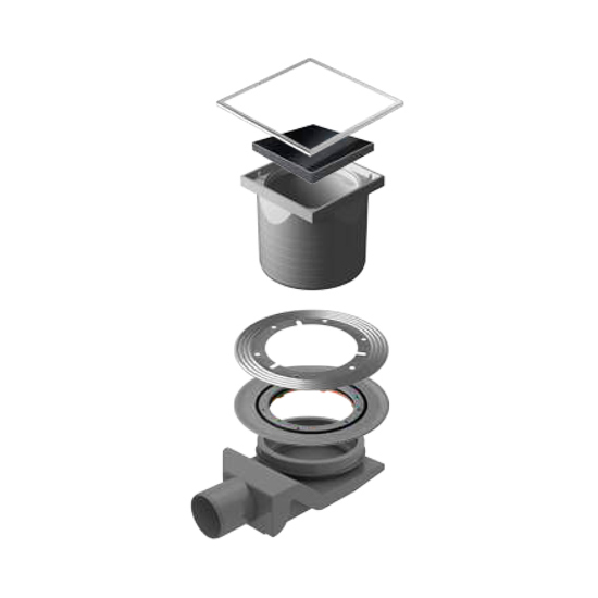 Трап для душа Pestan Confluo Standard Black Glass 4 душевой трап pestan square 3 150 мм 13000007