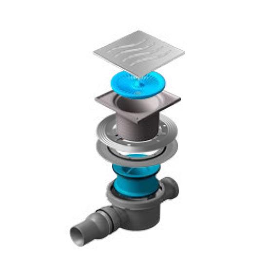 Трап для душа Pestan Confluo Standard Tide 2 душевой трап pestan square 3 150 мм 13000007