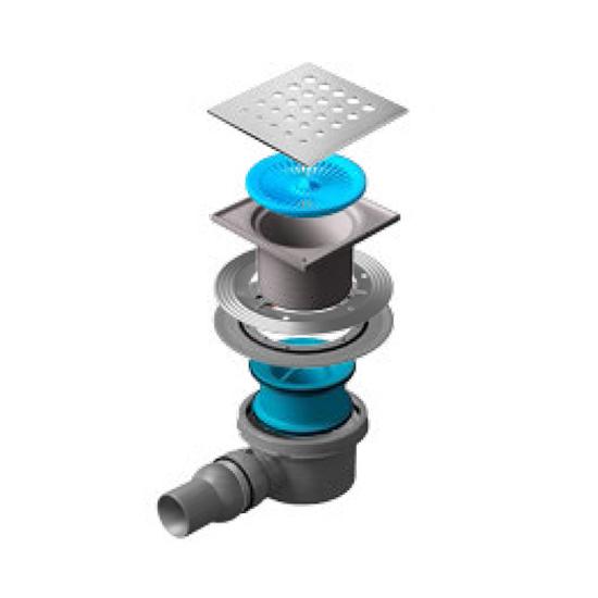 Трап для душа Pestan Confluo Standard Drops 1 душевой трап pestan square 3 150 мм 13000007