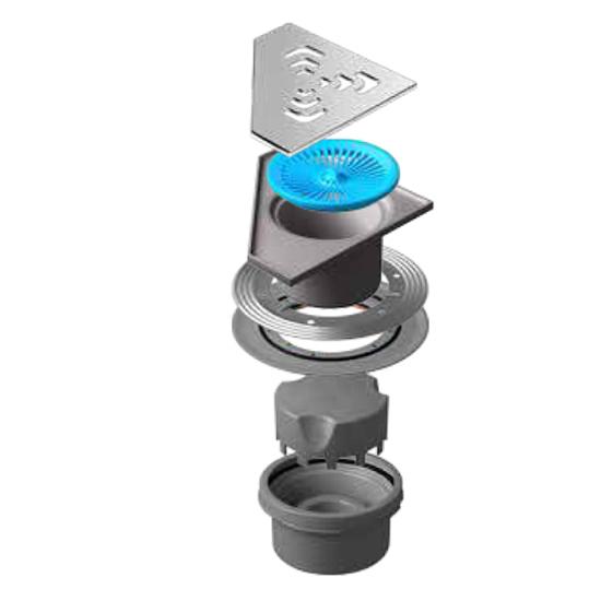 Трап для душа Pestan Confluo Standard Vertical Angle душевой трап pestan square 3 150 мм 13000007