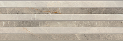 Настенная плитка Porcelanite Dos 9520 +21724 Rect. Gris Relieve