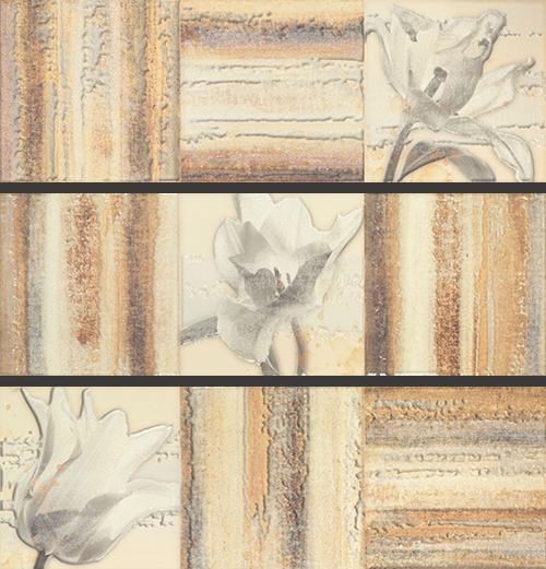 Панно Porcelanite Dos 9513 +18489 Comp. Caldera Oleo III панно porcelanite dos 9515 blanco zenit iii 90x90 комплект