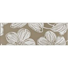 Декор Domino Dec Anya Flower Brown 20х60