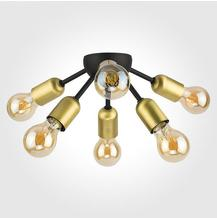 Люстра в стиле лофт TK Lighting 1467 Estrella Black потолочная
