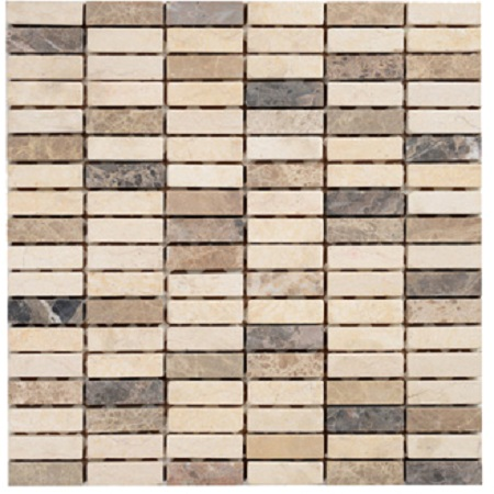 Мозаика MN185SMA Primacolore 15х48/300х300 - 0.99 мозаика gc122sla primacolore 15x48 300х300 10pcs 0 9