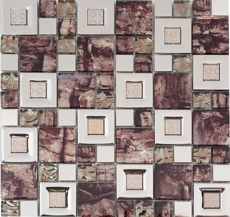 Мозаика MC221MLA Primacolore 23x23+48x48/300x300 (8 pcs) - 0.72 мозаика primacolore marmo mn174slc 4 8x4 8 30x30
