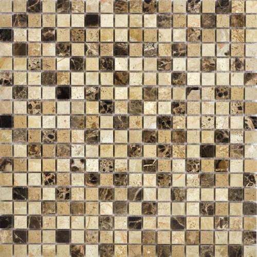 Мозаика Q-Stones QS-010-15P/8 30,5х30,5 мозаика muare q stones qs 013 15p 10 30 5x30 5