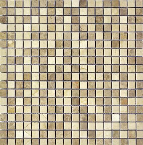 Мозаика Q-Stones QS-071-15P/10 30,5х30,5 мозаика muare q stones qs 013 15p 10 30 5x30 5