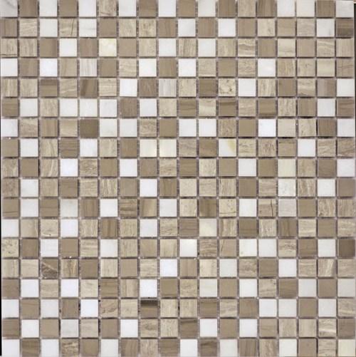 Мозаика Q-Stones QS-075-15P/10 30,5х30,5 мозаика muare q stones qs 013 15p 10 30 5x30 5