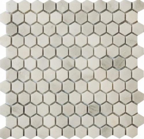Мозаика Q-Stones QS-Hex001-25P/10 30,5х30,5 мозаика q stones qs 015 20p 10 30 5х30 5