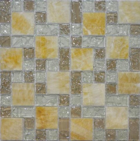 Фото - Мозаика Q-Stones QSG-081-FP/8 30х30 мозаика muare q stones qg 063 15 8 30 5x30 5