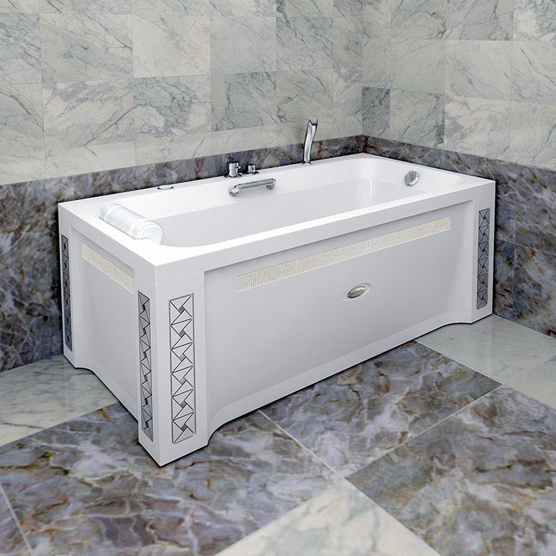 Акриловая ванна Радомир Хельга II без гидромассажа акриловая ванна радомир амелия gold правая
