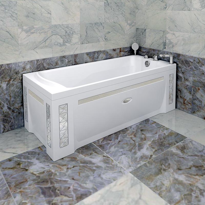 Акриловая ванна Радомир Ларедо 1 без гидромассажа акриловая ванна радомир амелия gold правая