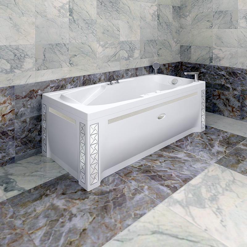 Акриловая ванна Радомир Парма без гидромассажа акриловая ванна радомир амелия gold правая