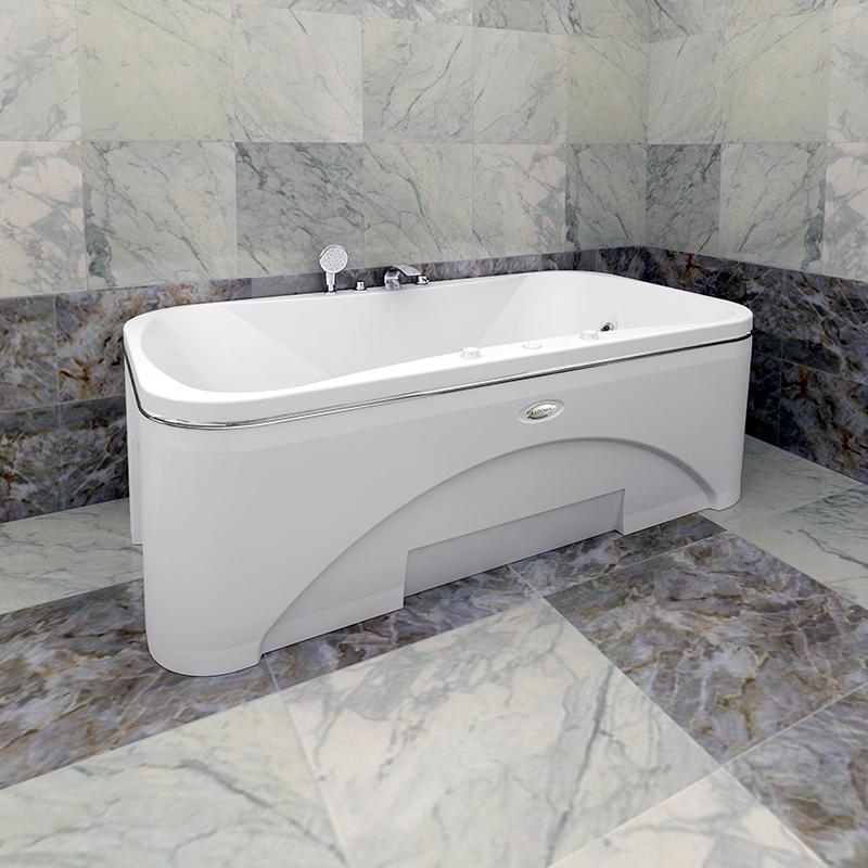 Акриловая ванна Радомир Лион без гидромассажа акриловая ванна радомир амелия gold правая