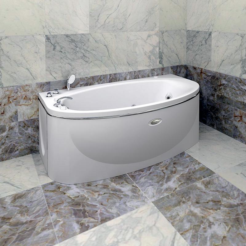 Акриловая ванна Радомир Неаполи без гидромассажа акриловая ванна радомир амелия gold правая