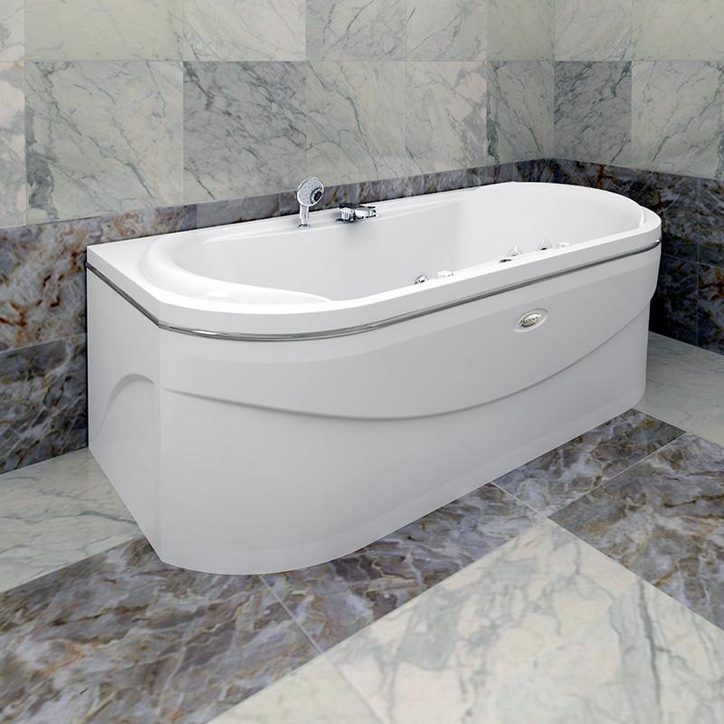 Акриловая ванна Радомир Титан без гидромассажа акриловая ванна belbagno bb42 1700