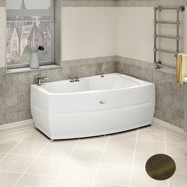Акриловая ванна Радомир Аризона Bronze правая