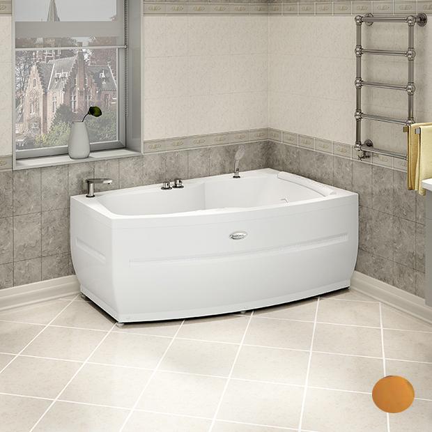 Акриловая ванна Радомир Аризона Gold правая