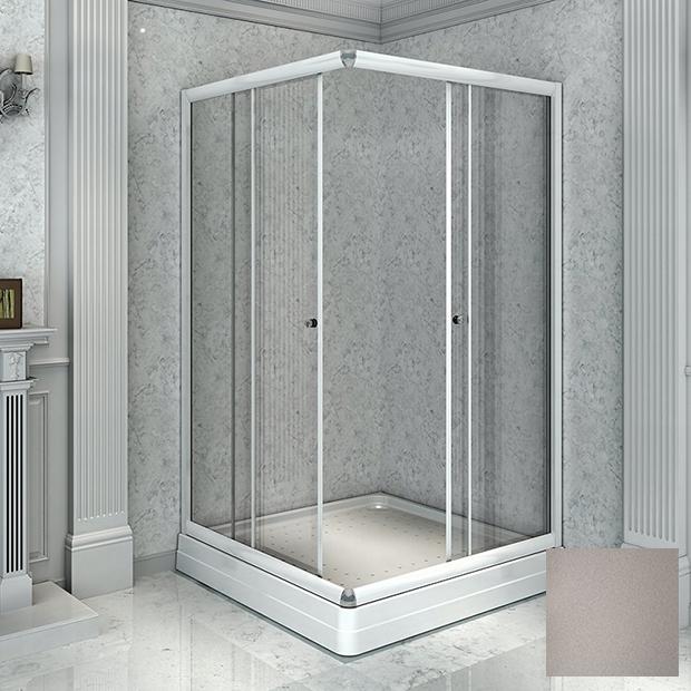 Душевой уголок Радомир 100 квадратный матовый цена