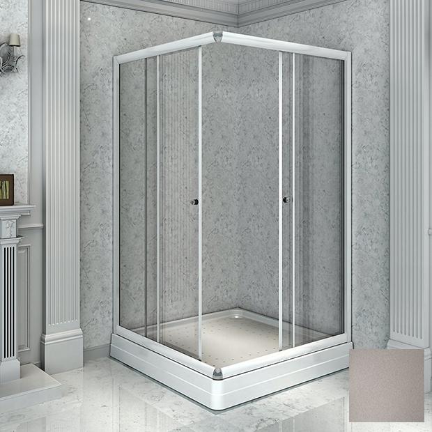 Душевой уголок Радомир 110 квадратный матовый цена