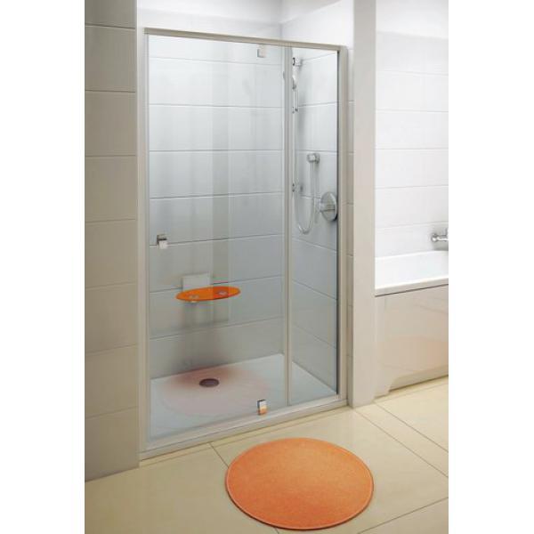 Душевая дверь Ravak Pivot PDOP2-100 белая+транспарент дверь финка белая