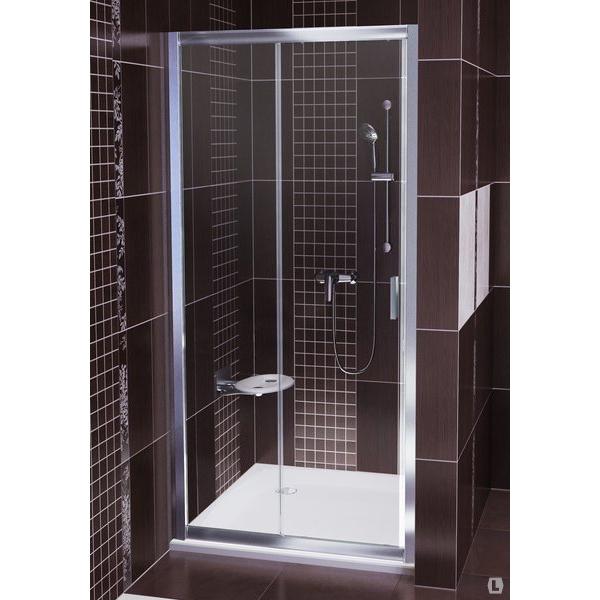 лучшая цена Душевая дверь Ravak BLDP2-110 белый+графит