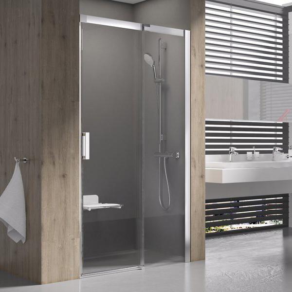 Душевая дверь Ravak MSD2-120 R блестящая+транспарент