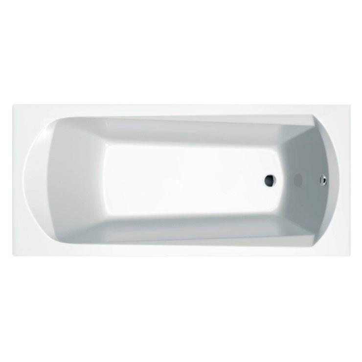 Акриловая ванна Ravak Domino 160х70 акриловая ванна ravak domino plus 170х75 белая c631r00000