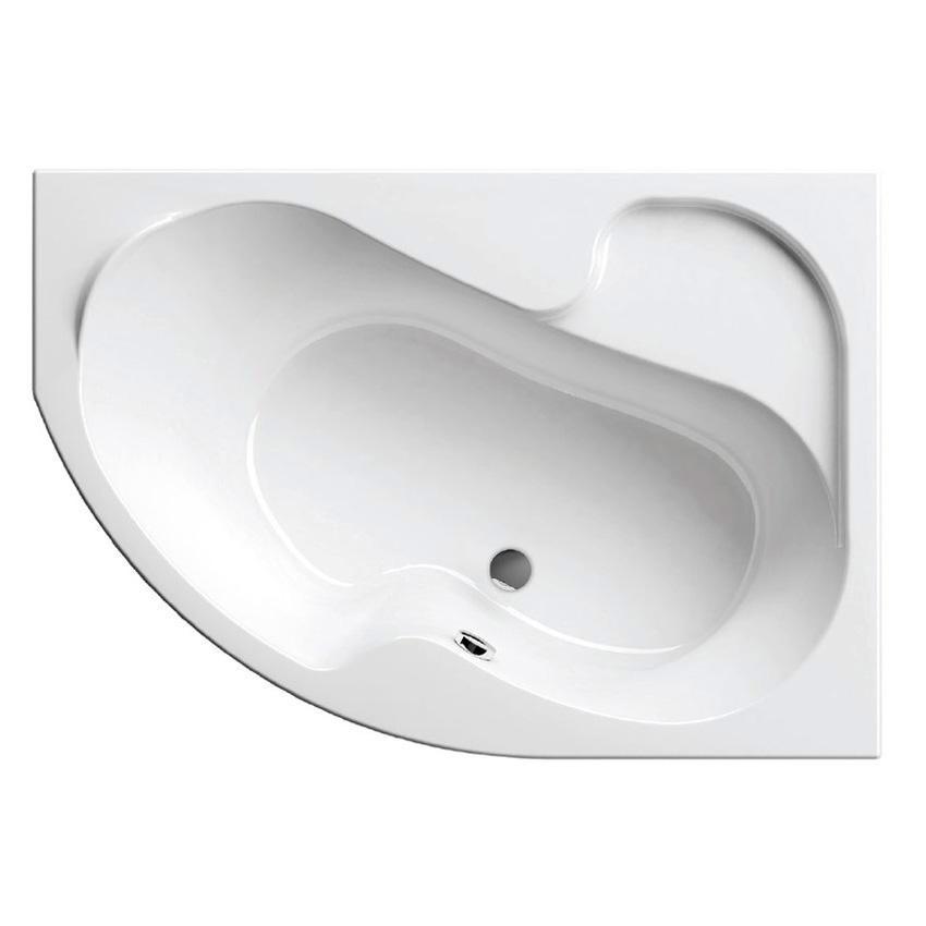 Акриловая ванна Ravak Rosa 140x105 R без гидромассажа акриловая ванна ravak rosa i 150x105 r без гидромассажа