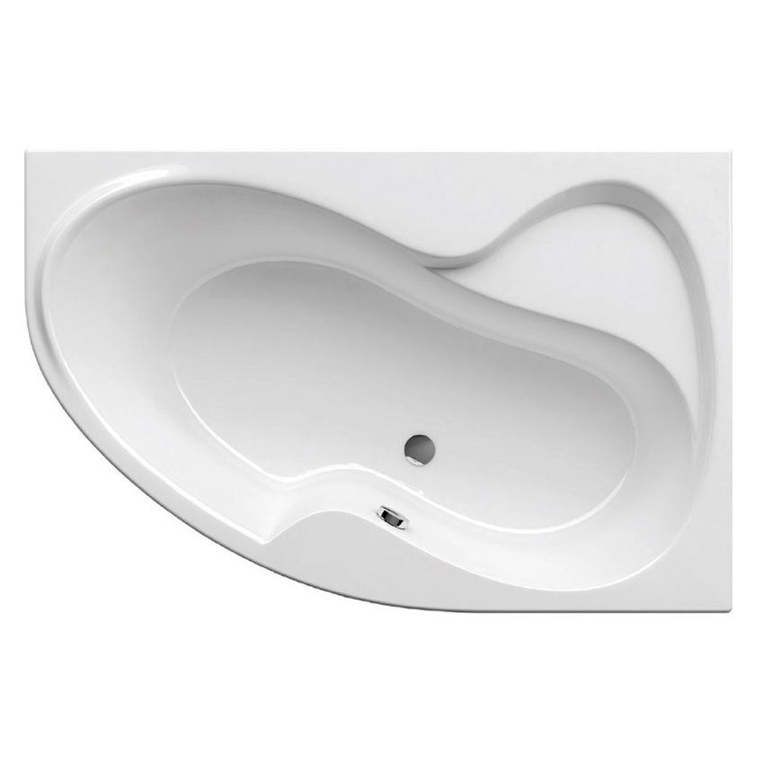 Акриловая ванна Ravak Rosa I 160x105 R без гидромассажа акриловая ванна ravak freedom r 175х75