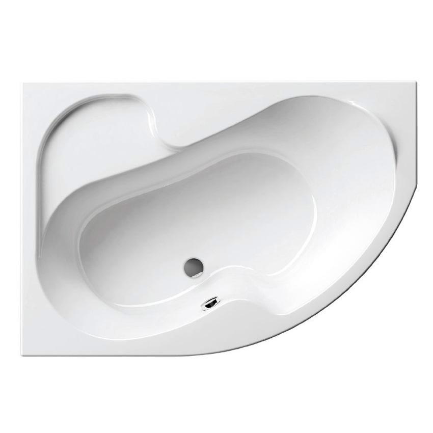 Акриловая ванна Ravak Rosa 140x105 L без гидромассажа
