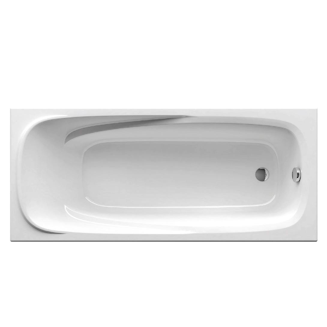 Акриловая ванна Ravak Vanda II 170x70 без гидромассажа акриловая ванна ravak vanda ii 170x70 без гидромассажа cp21000000