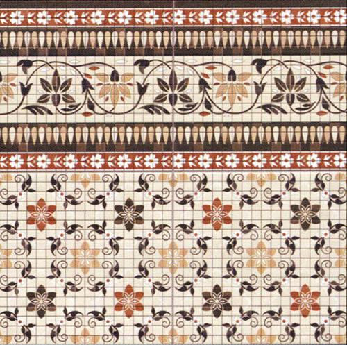Напольная плитка Realonda Cartago Nova Cenefa 44,2х44,2 напольная плитка realonda ceramica cartago nova esquina 44 2x44 2