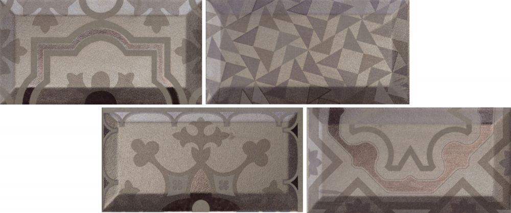 купить Настенная плитка Realonda Istanbul Silver 7,7х15 по цене 1957 рублей
