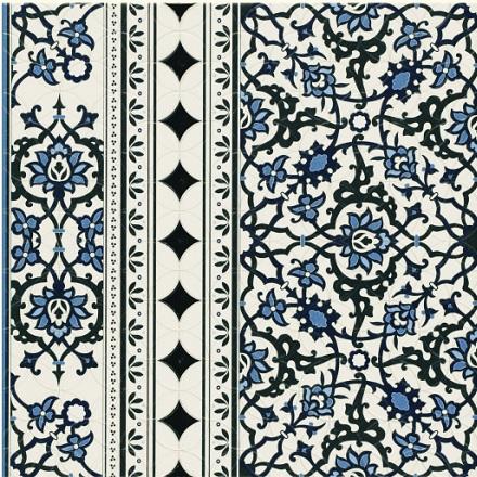Orly Deco Cenefa плитка напольная 440х440 мм/87,68 напольная плитка realonda ceramica nantes perla 44 2x44 2