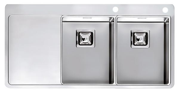Кухонная мойка Reginox Nevada 30x30 LUX OKG right L сталь кухонная мойка reginox chicago l lux okg сталь