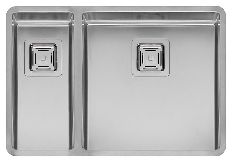 купить Кухонная мойка Reginox Texas 18x40+40x40 LUX L сталь по цене 63000 рублей