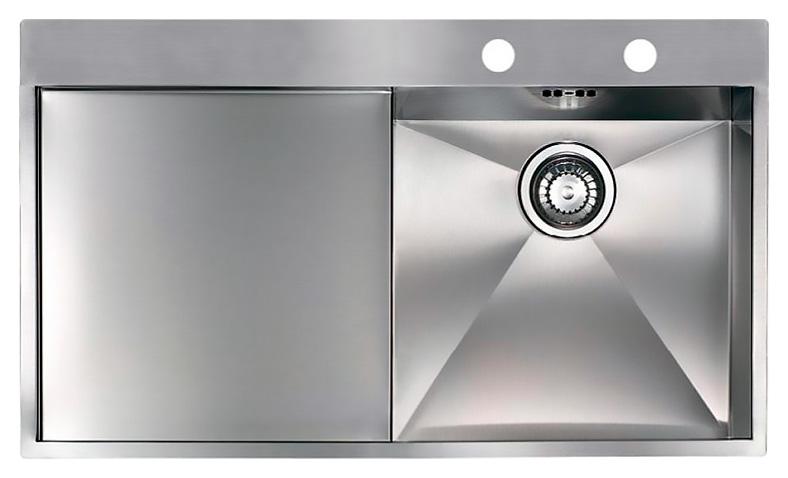 Кухонная мойка Reginox Ontario 10 LUX OKG right L сталь кухонная мойка reginox chicago l lux okg сталь