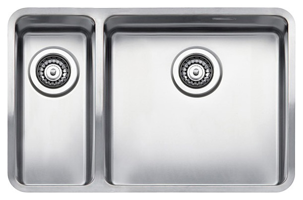 купить Кухонная мойка Reginox Ohio 18x40+40x40 LUX L сталь по цене 55500 рублей