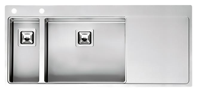 Кухонная мойка Reginox Nevada 18x50 LUX OKG left L сталь кухонная мойка reginox chicago l lux okg сталь