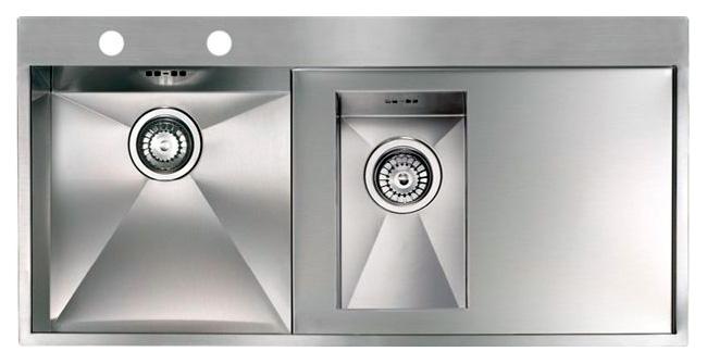 Кухонная мойка Reginox Ontario 1.5 LUX OKG left L сталь кухонная мойка reginox chicago l lux okg сталь