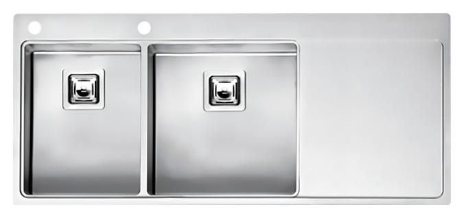 Кухонная мойка Reginox Nevada 30x40 LUX OKG left L сталь кухонная мойка reginox chicago l lux okg сталь
