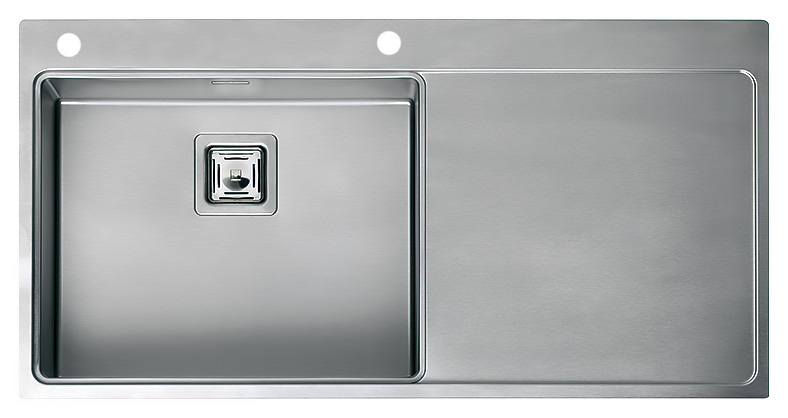 Кухонная мойка Reginox Nevada 50 LUX OKG left L сталь кухонная мойка reginox chicago l lux okg сталь