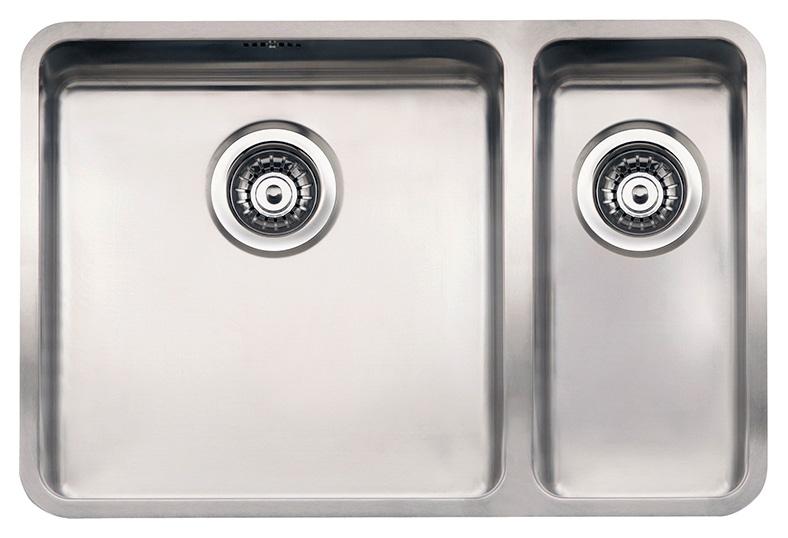 купить Кухонная мойка Reginox Ohio 40x40+18x40 LUX L сталь по цене 55500 рублей