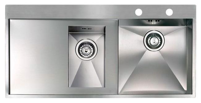 Кухонная мойка Reginox Ontario 1.5 LUX OKG right L сталь мойка кухонная reginox orlando lux okg box