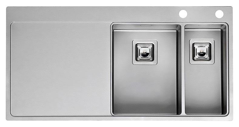 Кухонная мойка Reginox Nevada 30x18 LUX OKG right L сталь кухонная мойка reginox chicago l lux okg сталь