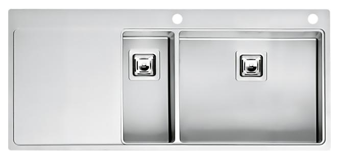 Кухонная мойка Reginox Nevada 18x50 LUX OKG right L сталь кухонная мойка reginox chicago l lux okg сталь