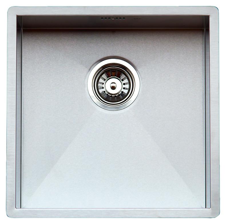купить Кухонная мойка Reginox Ontario 40x40 Cuadrat LUX OKG L сталь по цене 30900 рублей