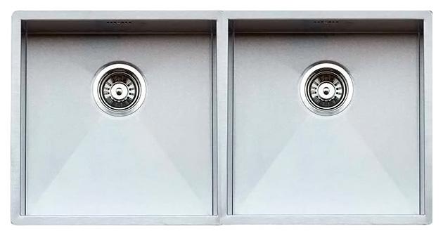 Кухонная мойка Reginox Ontario 40х40+40х40 LUX OKG L сталь кухонная мойка reginox chicago l lux okg сталь